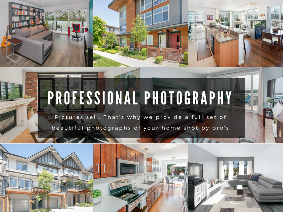 Pictures sell. We provide a full set of beautiful photographs of your home shot by pros.